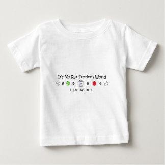 march15b15RatTerrier.jpg ベビーTシャツ
