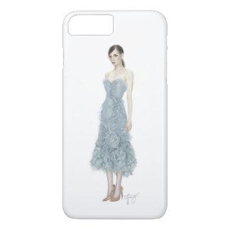 Marchesaの服のファッションの絵 iPhone 8 Plus/7 Plusケース