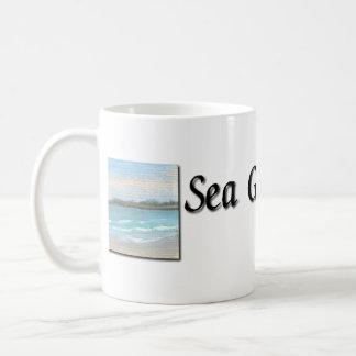 Marciaのマグによる海のガラスキャンデー コーヒーマグカップ
