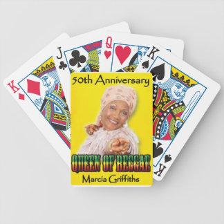 Marcia Griffithsレゲエ女王第50記念日 バイスクルトランプ