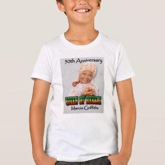 Marcia Griffithsレゲエ女王第50記念日 Tシャツ