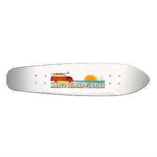 Marcoの島 21.6cm スケートボードデッキ