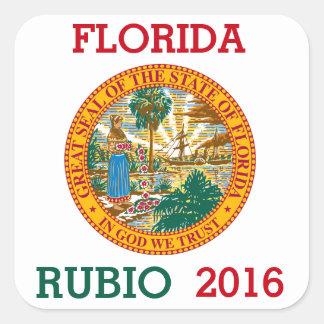 Marcoルビオ2016年のためのフロリダ スクエアシール