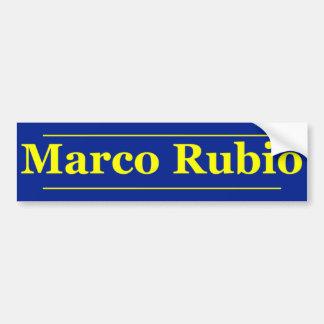Marcoルビオ2 バンパーステッカー
