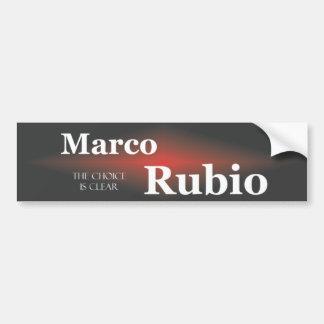 Marcoルビオ5.1 バンパーステッカー