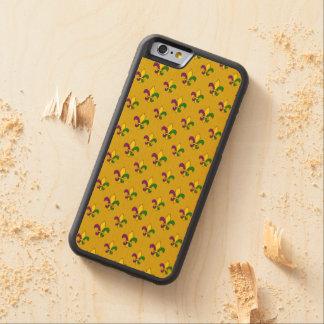 Mardiの草パターン CarvedメープルiPhone 6バンパーケース