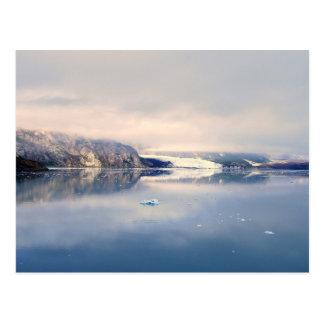 Margerieの氷河、グレーシャー入江アラスカの郵便はがき ポストカード