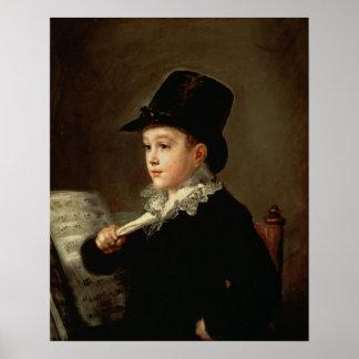 Marianito Goyaのポートレート ポスター