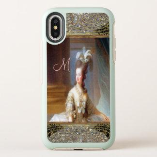 Marieのかわいらしくフランスのなモノグラム オッターボックスシンメトリー iPhone X ケース