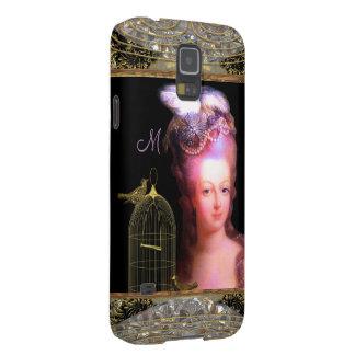 Marieのフランス人のチャームのモノグラム Galaxy S5 ケース
