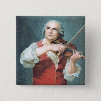 MarieアレグサンダーGuenin 1791年 5.1cm 正方形バッジ