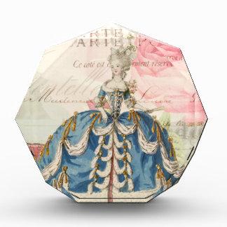 Marieアントワネットのアクリルの八角形賞 表彰盾