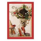 Marieアントワネットのクリスマスカード カード