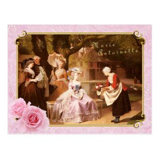 Marieアントワネットの郵便はがきの披露宴 ポストカード