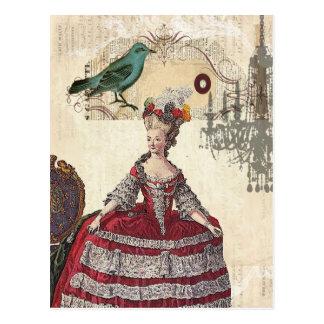 Marieアントワネットパリのシャンデリアのフランスのな女王 ポストカード