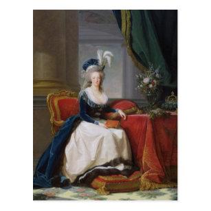 Marieアントワネット1788年 ポストカード