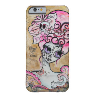 Marieアントワネット、Dia de los Muertos Barely There iPhone 6 ケース