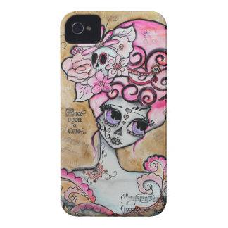 Marieアントワネット、Dia de los Muertos iPhone 4 カバー
