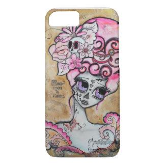 Marieアントワネット、Dia de los Muertos iPhone 8/7ケース