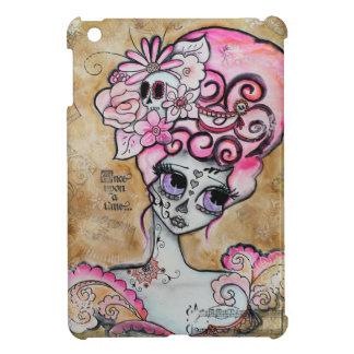 MarieアントワネットDia de los Muertos Mini Ipadの例 iPad Miniケース