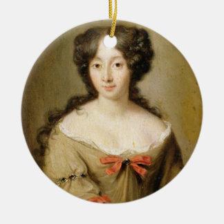 MarieアンMancini (1646-1714年の) c.1670のポートレート セラミックオーナメント