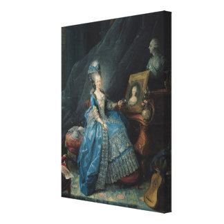 Marieテレーズdeサボア1775年 キャンバスプリント