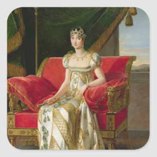 MarieポーリーンBonaparteのプリンセスBorghese 1808年 スクエアシール