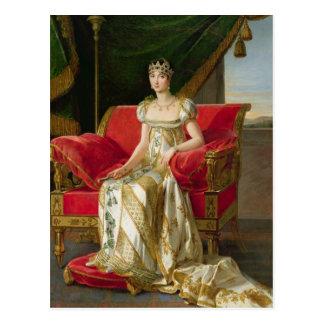 MarieポーリーンBonaparteのプリンセスBorghese 1808年 ポストカード
