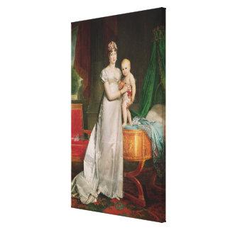 Marieルイーズおよびローマの王 キャンバスプリント