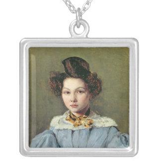 MarieルイーズSennegon 1831年 シルバープレートネックレス