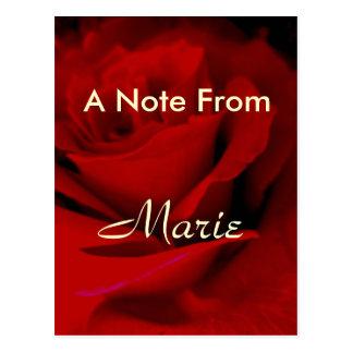 Marie ポストカード