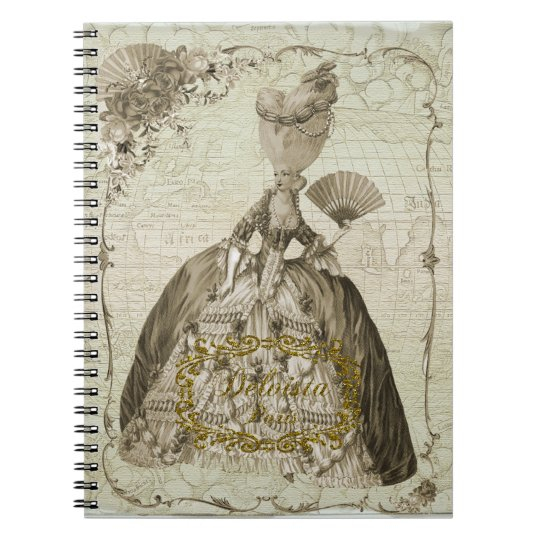 Marie Antoinette肖像 ノートブック・セピア ノートブック