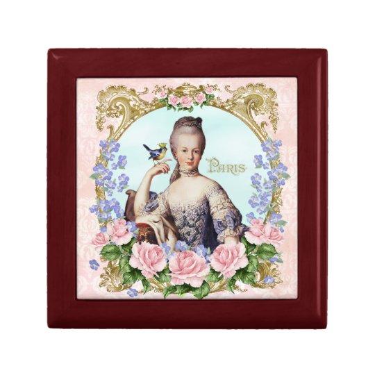 Marie Antoinette Jewelery Box Pink Damask Antonia ギフトボックス