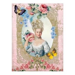 Marie Antoinette  Portrait Postcard Versailles ポストカード