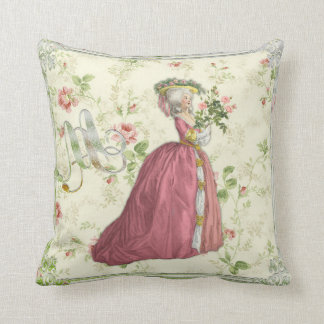 Marie Antoinette Rose Garden Pillow クッションB クッション