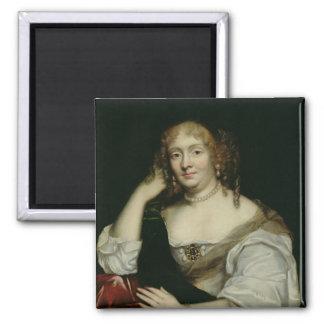 Marie de RabutinシャンタルMarquiseのポートレート マグネット