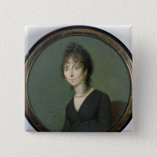 Marie Laetitia Ramolino 1800年 5.1cm 正方形バッジ