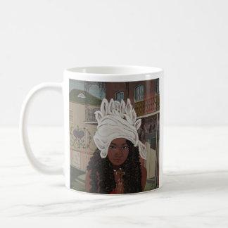 Marie Laveau、ニュー・オーリンズのブードゥーの女王 コーヒーマグカップ