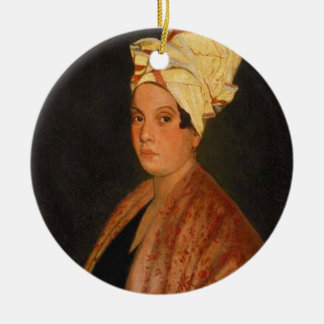 Marie Laveau: ブードゥーの女王 セラミックオーナメント