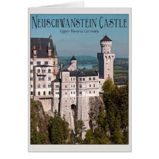 Marienbrücke -英語からの城ノイシュヴァンシュタイン城 カード
