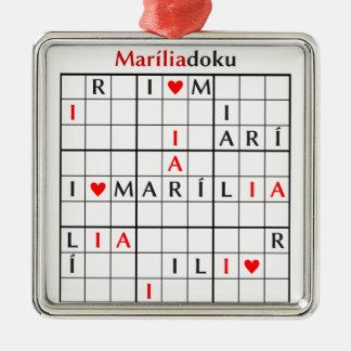 mariliadoku メタルオーナメント
