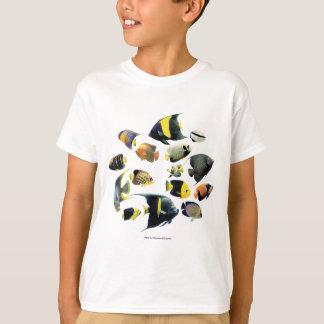 Marine angelfishの優良製品 tシャツ