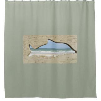 MARINELANDのフロリダのビーチのシャワー・カーテン シャワーカーテン