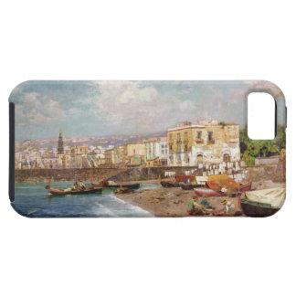 Marinella、ナポリ(oのビーチの漁船 iPhone SE/5/5s ケース