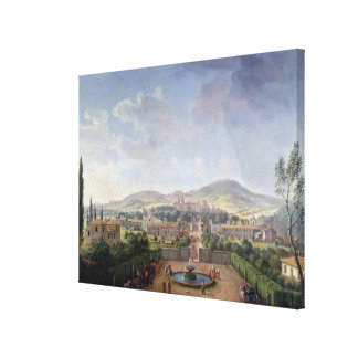 Marino 1719年の眺め(キャンバスの油) キャンバスプリント