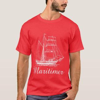 Maritimerの帆船の航海のなワイシャツ Tシャツ