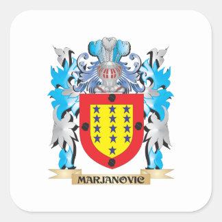 Marjanovicの紋章付き外衣-家紋 スクエアシール