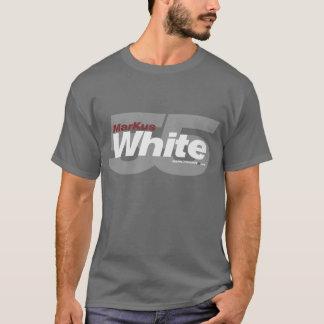 MarKusの白55の- Tシャツ-灰色 Tシャツ