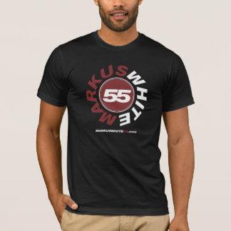 MarKusの白55の- Tシャツ-黒 Tシャツ