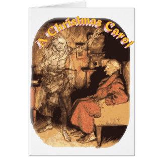 MarleyおよびScrooge グリーティングカード